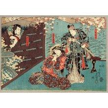 歌川国貞: Kabuki - Attempted Murder - Artelino