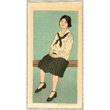 Keith Elizabeth: Sitting Girl - Artelino