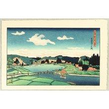 Okuyama Gihachiro: Akaura - Noto Shin Nanao Hakkei - Artelino