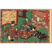 歌川国貞: The Tale of Genji - Chapter 23 - Artelino