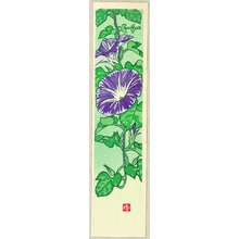 Kasamatsu Shiro: Flower of All Seasons - Morning Glory - Artelino