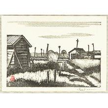 Kasamatsu Shiro: Rural Scene - Artelino