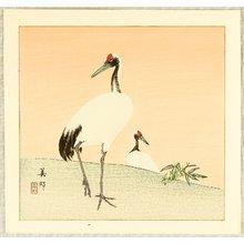 Hirose Biho: Two Cranes - Artelino