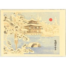 Kamei Tobei: Golden Pavillion in Snow - Artelino
