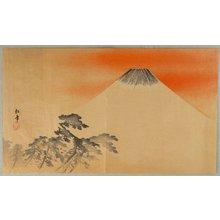 Suzuki Shonen: Mt. Fuji at dawn - Artelino