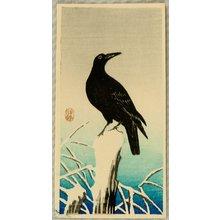 Ohara Koson: Crow - Artelino