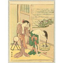 鈴木春信: Washing Hairs - Artelino
