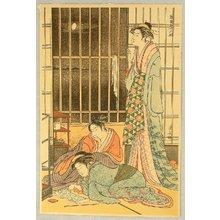 Torii Kiyonaga: Yoshiwara Beauties - Artelino