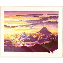 両角修: Sunrise at Mt. Fuji - Artelino