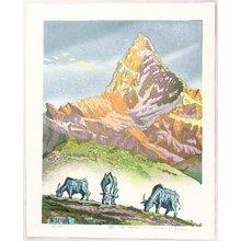 Morozumi Osamu: Quiet Morning - Nepal - Artelino