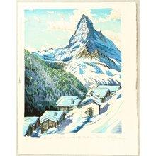 Morozumi Osamu: Matterhorn, Findeln - Switzerland - Artelino