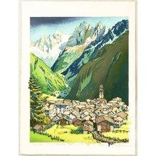 Morozumi Osamu: Quiet Village Soglio - Italy - Artelino