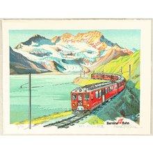 Morozumi Osamu: Bernina Railway - Switzerland - Artelino