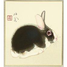 Takeuchi Seiho: Rabbit - Artelino