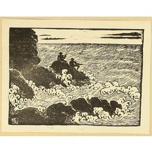Kodama Takamura: Rough Waves and Fishermen - Artelino