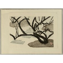 Aoyama Masaharu: Snowy Branches - Artelino