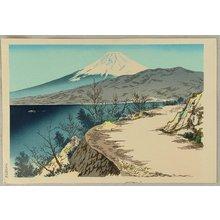 Tokuriki Tomikichiro: Mt. Fuji from Izu - Thirty-six Views of Mt. Fuji - Artelino