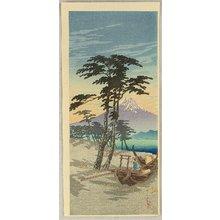 Takahashi Hiroaki: Mt.Fuji from Miho - Artelino