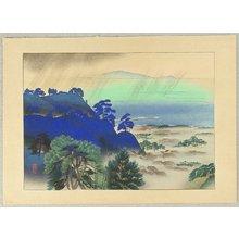 Iwata Masami: Evening Rain at Kamakura - Artelino