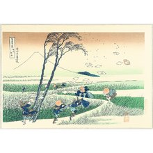 葛飾北斎: Thirty-six Views of Mt.Fuji - Sunshuu Ejiri - Artelino