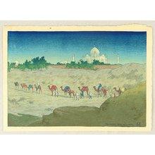 Bartlett William Charles: Taj Mahal From the Desert - Artelino