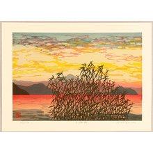 Nishijima Katsuyuki: Morning at Biwa Lake - Artelino
