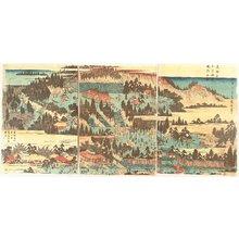 Utagawa Hiroshige: Famous Places of Eastern Capital - Inari Shrine in Oji - Artelino