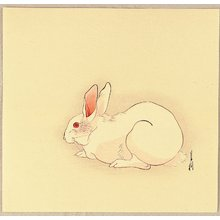 尾形月耕: Hare - Artelino