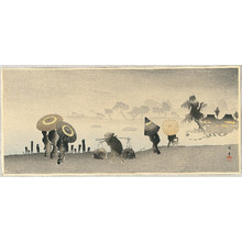 Yamamoto Shoun: Parasols at Riverside - Artelino