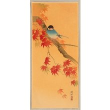 Ito Sozan: Blue Bird in Autumn - Artelino