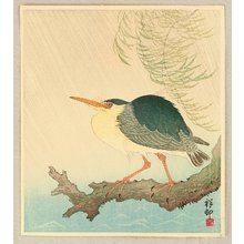 小原古邨: Heron in the Storm - Artelino