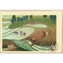 Ono Bakufu: Rice Planting in the Rain - Artelino