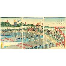 Taguchi Yoshimori: Shogun Yoritomo visits Kyoto - Artelino