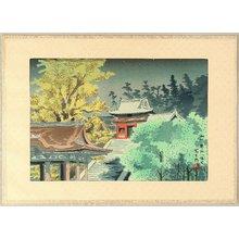 徳力富吉郎: Hachimangu Shrine - Artelino