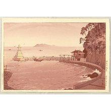 Kasamatsu Shiro: Seashore of Izu Peninsula - Artelino