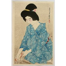 Ito Shinsui: First Series of Modern Beauties - After Bath - Artelino