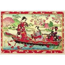 Toyohara Chikanobu: Pleasure Boat - Artelino