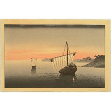 古峰: Two Boats in the Sunset - Artelino