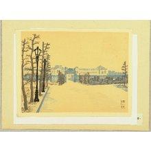 Hiratsuka Unichi: Recollections of Tokyo - Akasaka Palace - Artelino