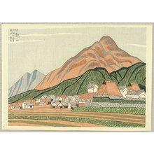 Fujishima Takeji: Mt. Hiei - Artelino
