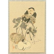 Shibata Zeshin: Daikoku and Mouse - Artelino