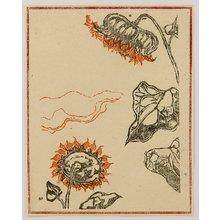 Onchi Koshiro: Sunflowers - Artelino
