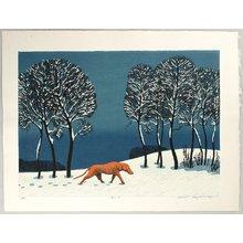 Hayashi Waichi: Snowy Day - Artelino