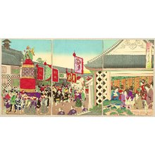 豊原周延: Customs and Manners of Edo 12 Months - June - Artelino
