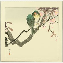 静湖: Green Birds on a Branch - Artelino