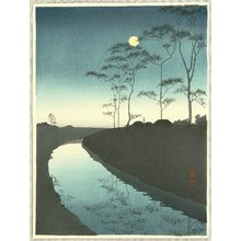古峰: Canal under the Moonlight - Artelino