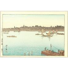 Yoshida Hiroshi: Sumida River - Afternoon - Artelino