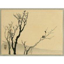 Takeuchi Seiho: Three Crows - Artelino