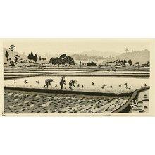 Okuyama Gihachiro: Rice Planting - Artelino