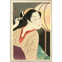 Takane Koko: Girl and Japanese Lantern - Cuckoo - Artelino